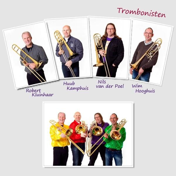 foto trombone sectie